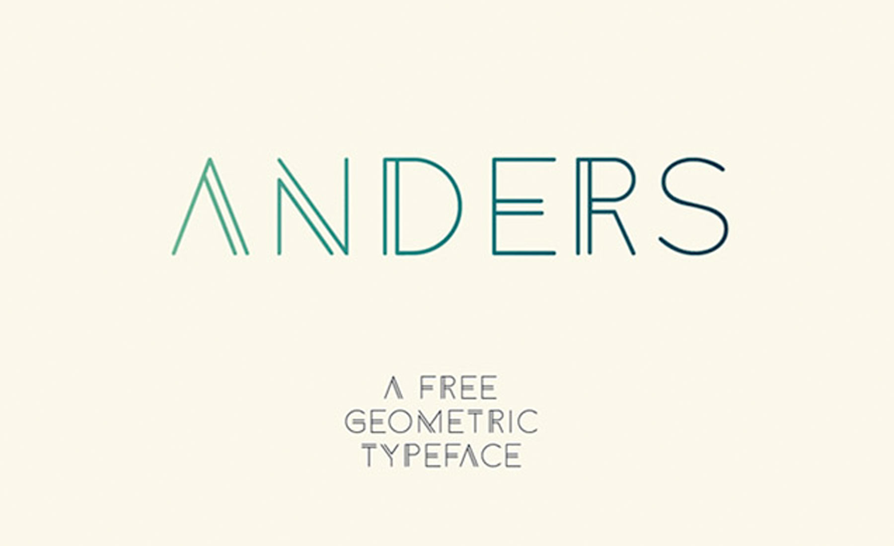 font-anders