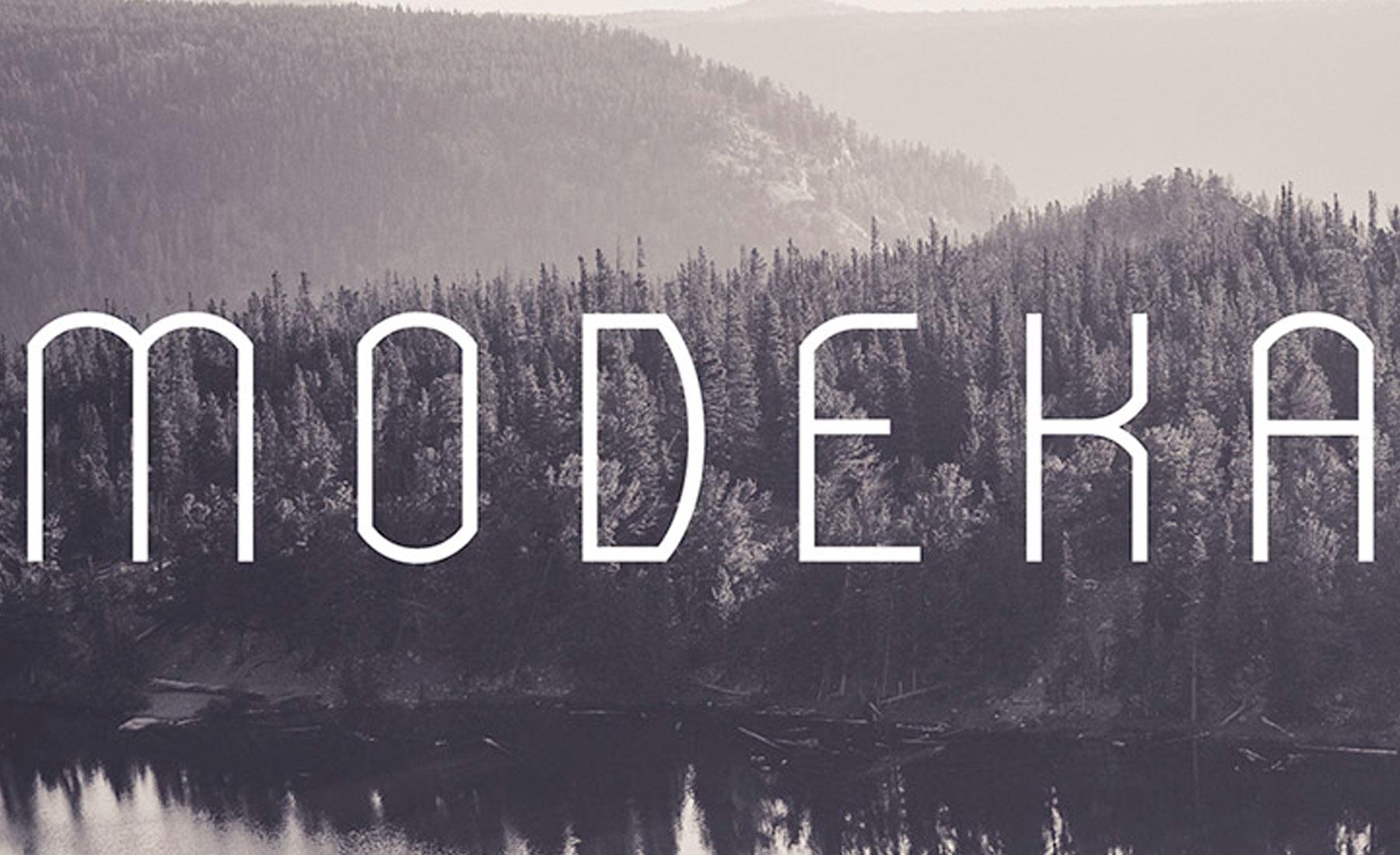 font-modeka