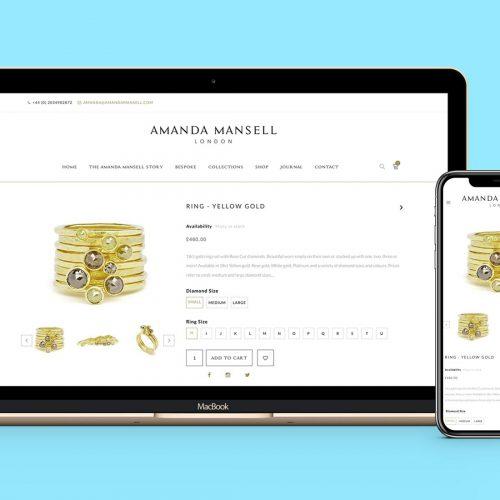 Amanda Mansell Website